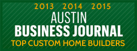 Austin Business Journal - Top Custom Home Builders