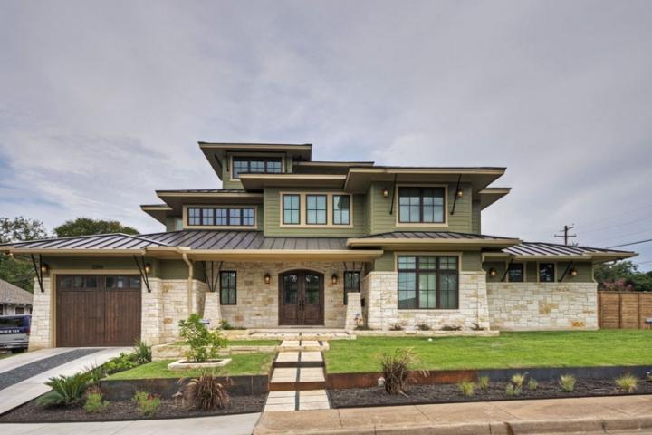 Texas prairie home central austin homes portfolio for A e custom homes