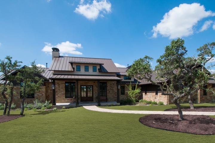 Belvedere farmhouse portfolio olson defendorf custom for Texas farmhouse builders