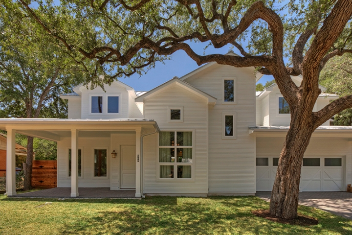 Urban Farmhouse Central Austin Homes Portfolio Olson