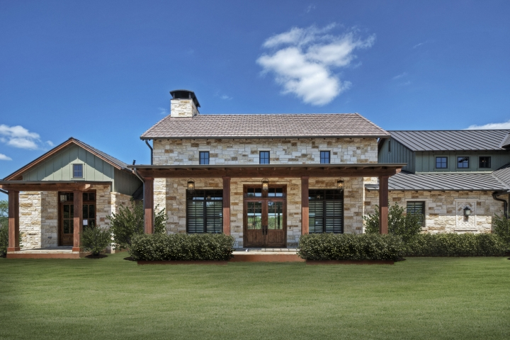 German Texas Farmhouse I Estate Homes Portfolio Olson Defendorf Custom